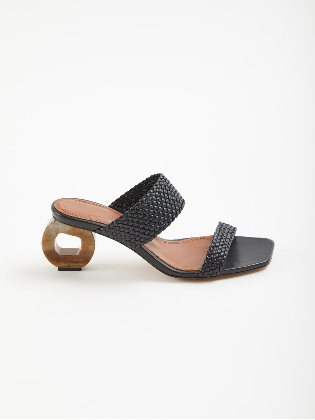 Limon Heel Sandals - Black
