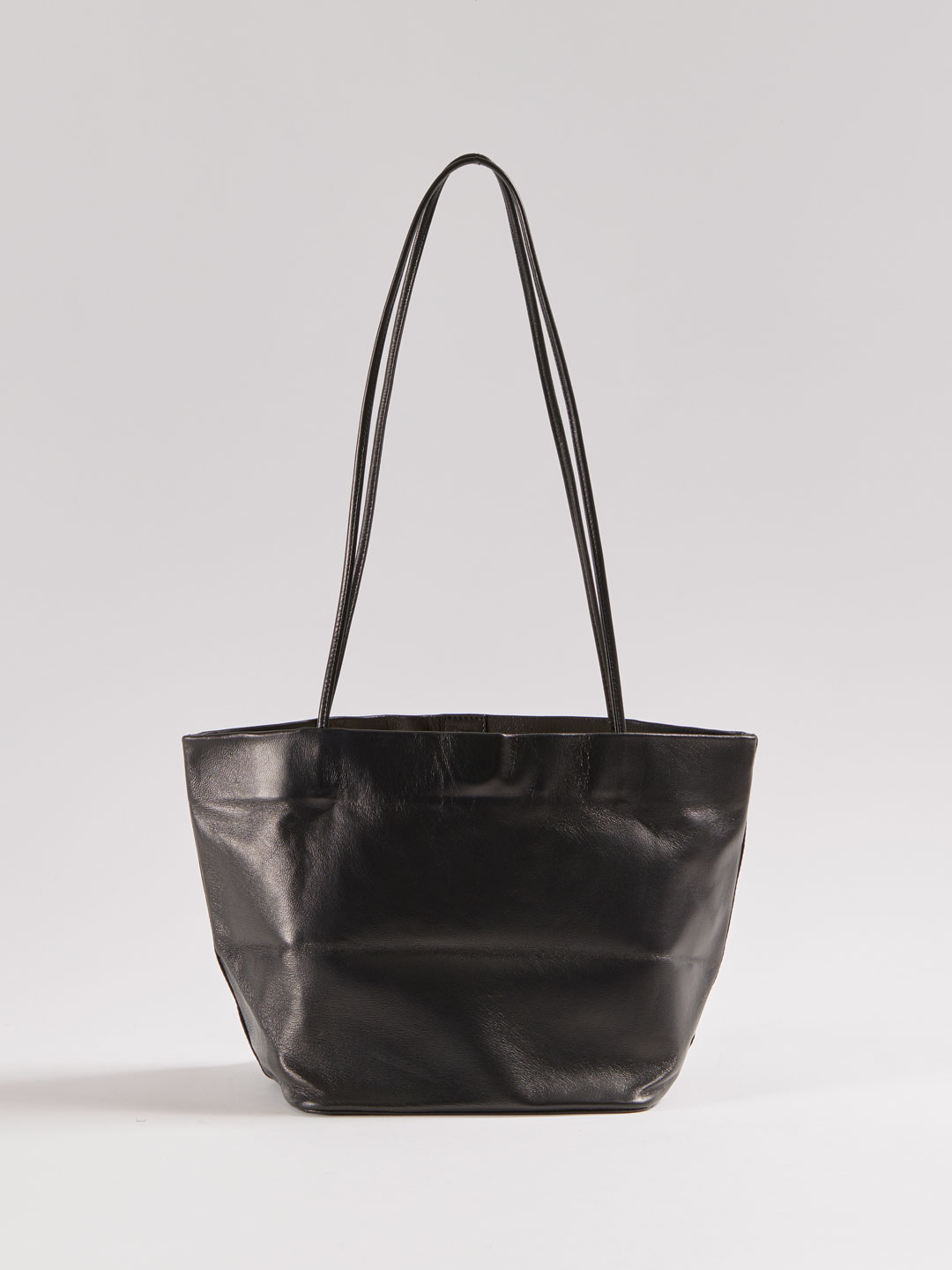 SLIM LAMB BASKET - Black