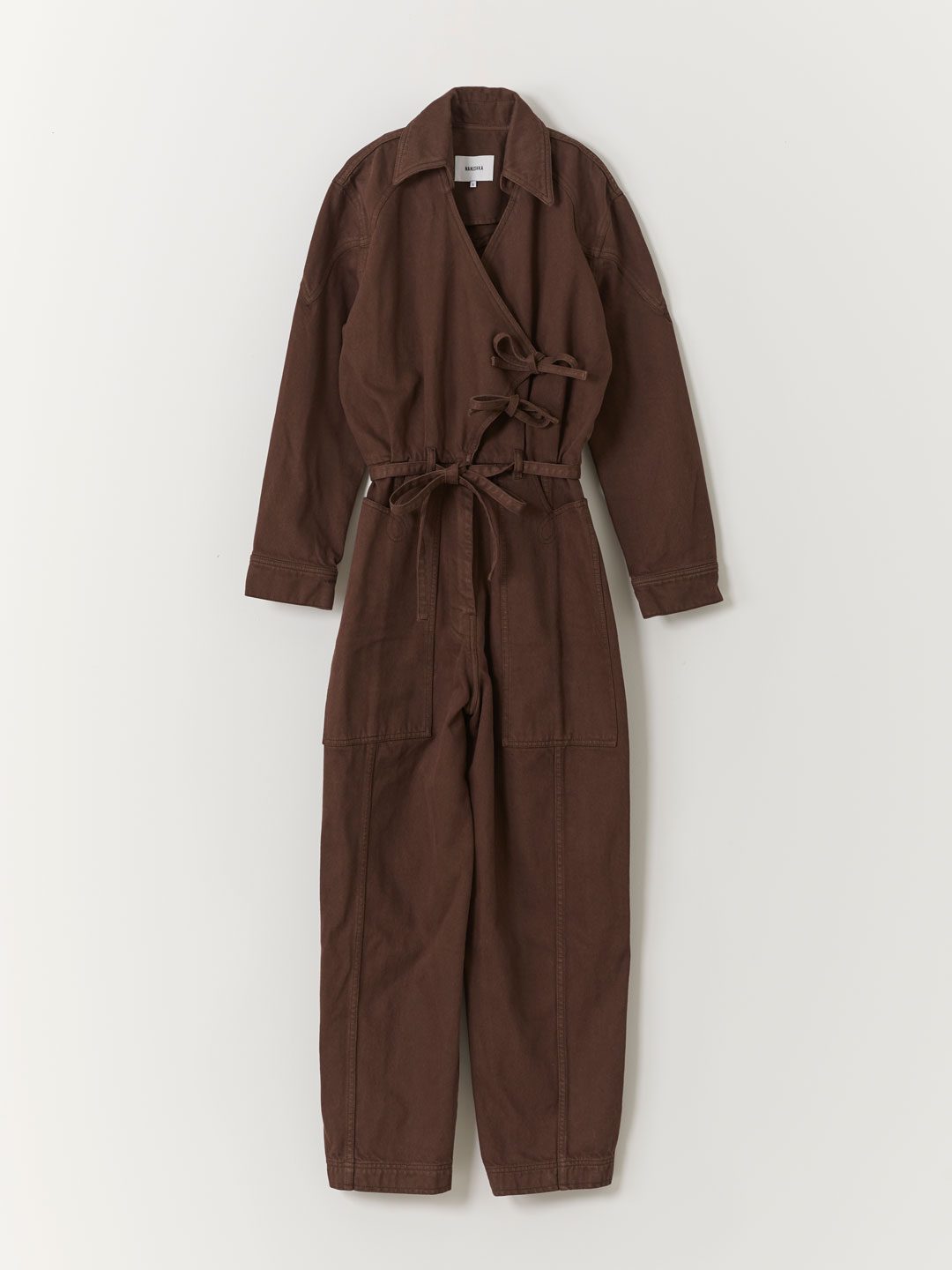 Naki Jumpsuit - Brown