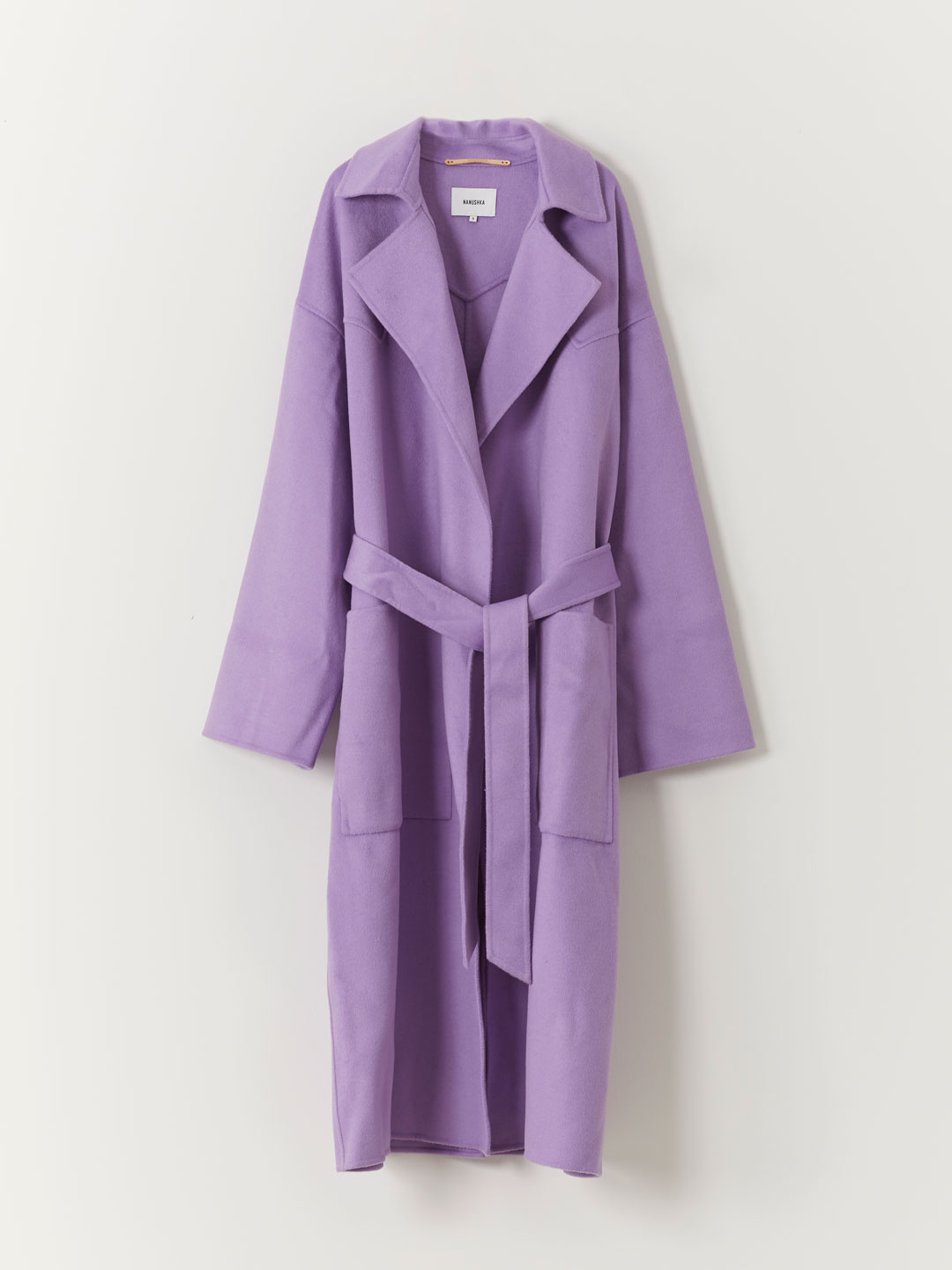 Alamo Coat - Purple