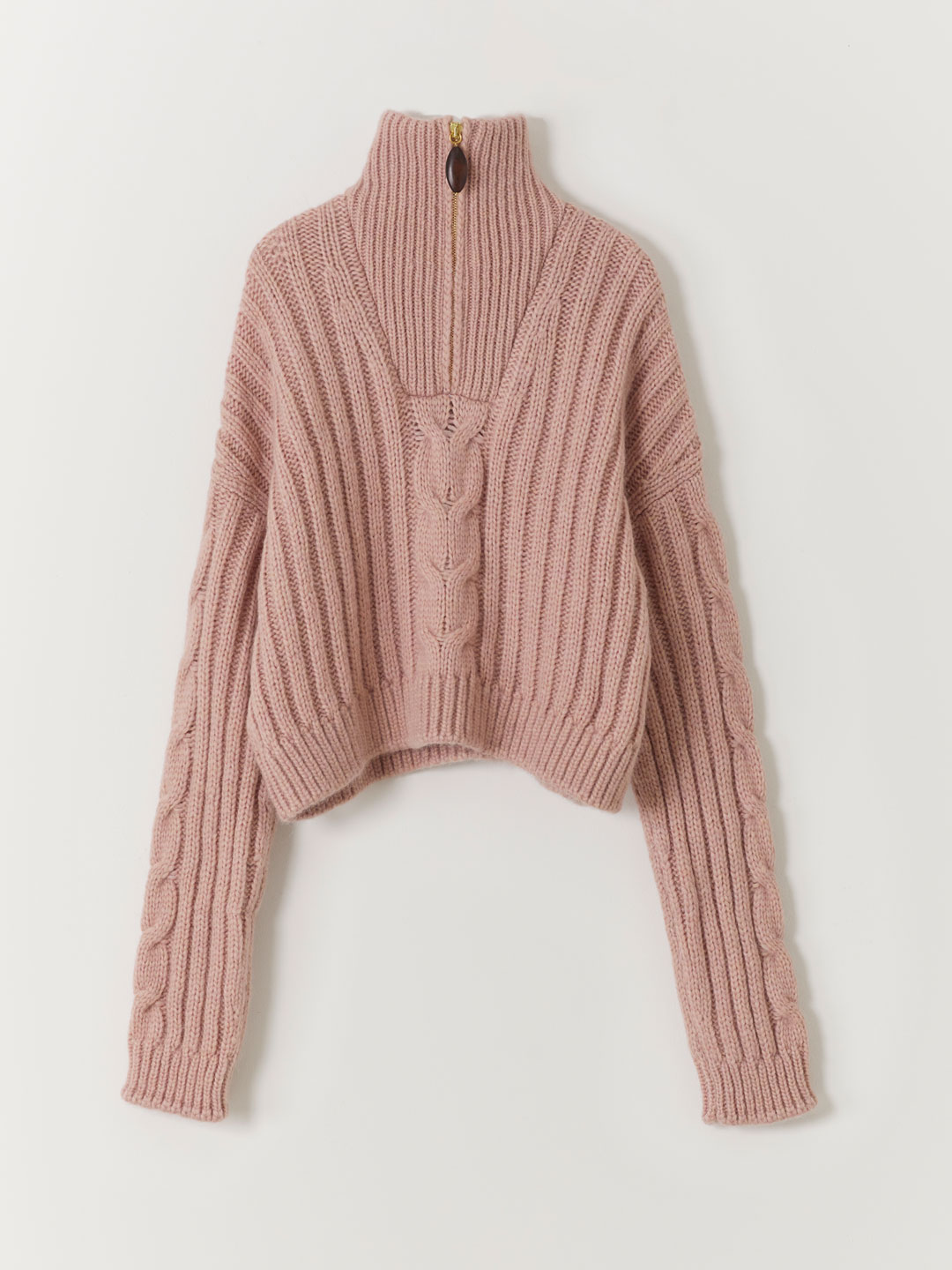 Eria Knitted Sweater - Pink