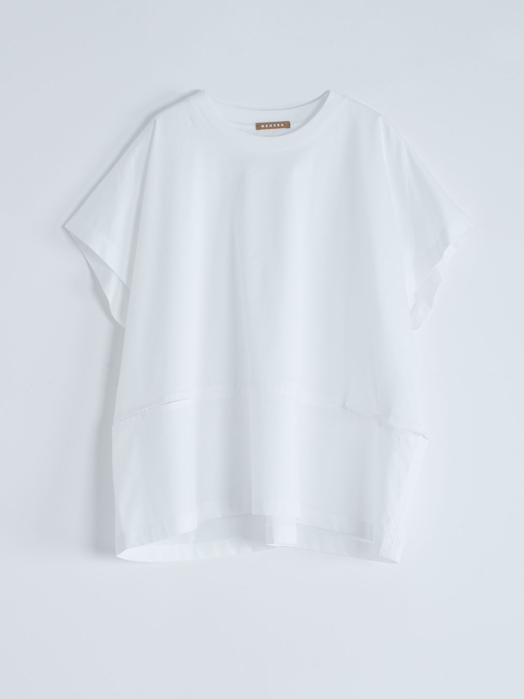 Light Jersey Cotton Top - White