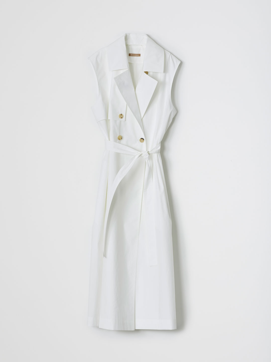 Technical Trench Coat - White