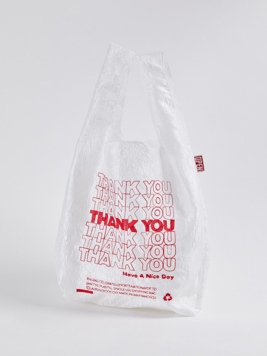 Thank You Tote - Thank You Red