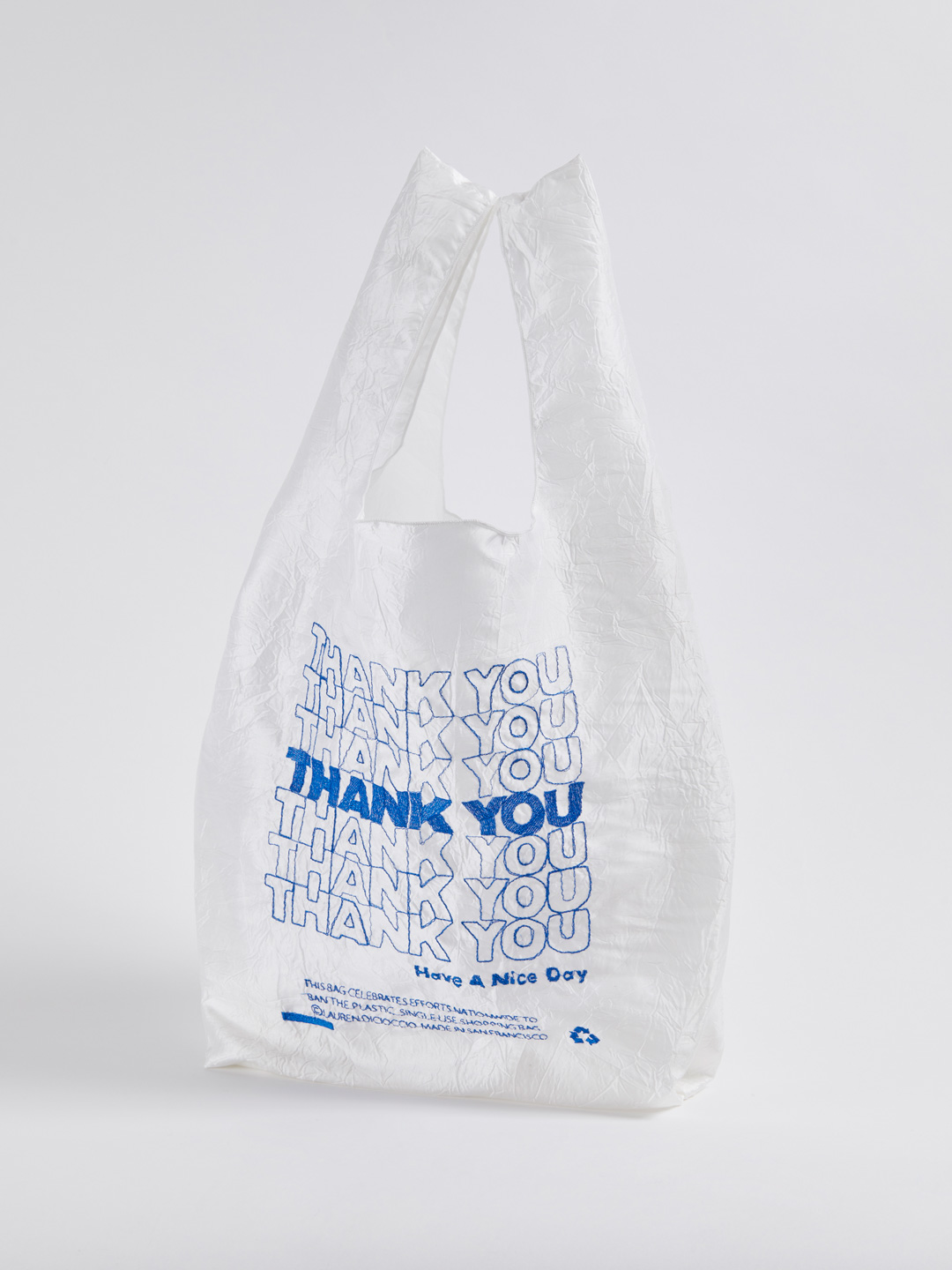 Thank You Tote - Thank You Blue
