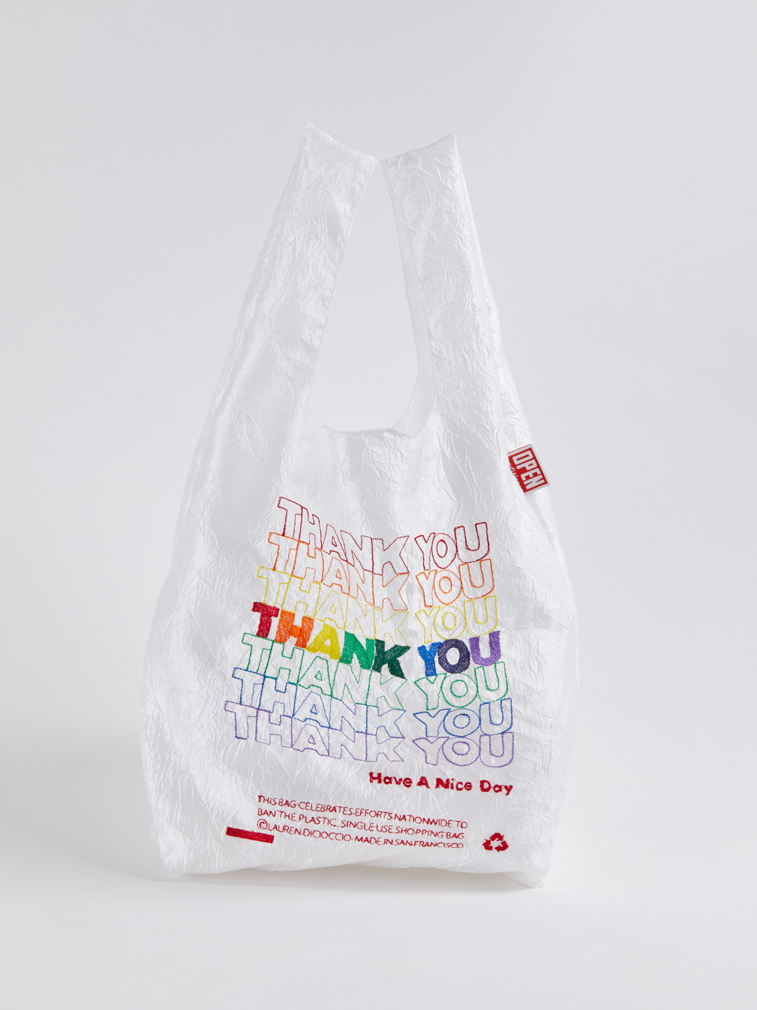 Thank You Tote - Thank You Rainbow
