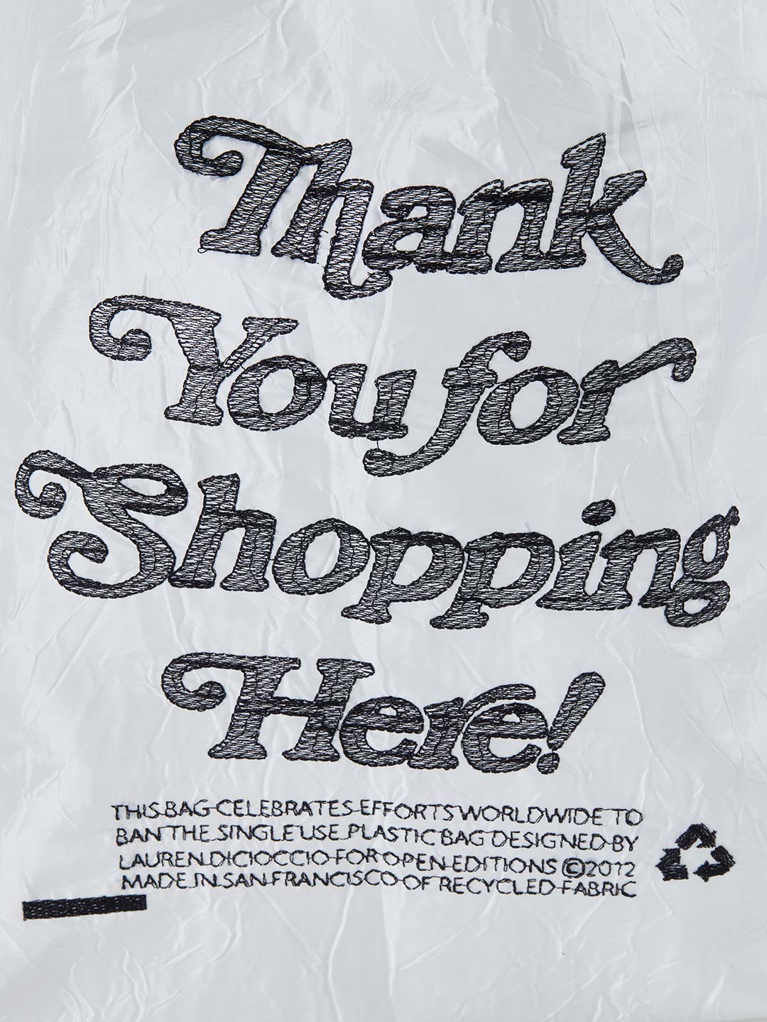 MINI Thank You Tote - Shopping White