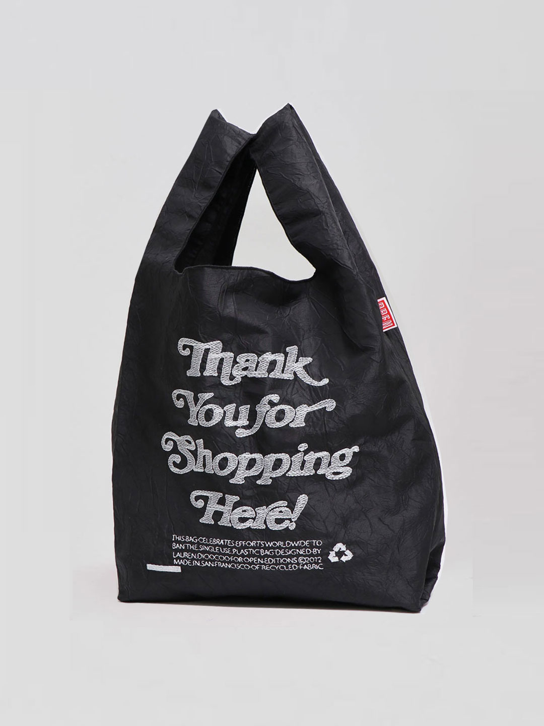 Thank You Tote - Shopping Black【ESCAPERS 限定カラー】