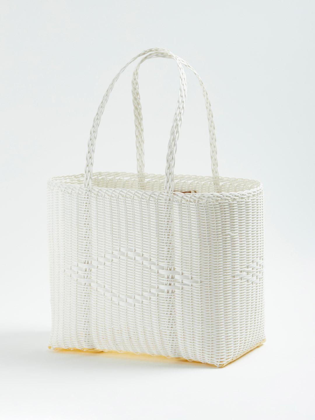 BASKET Bag M - White