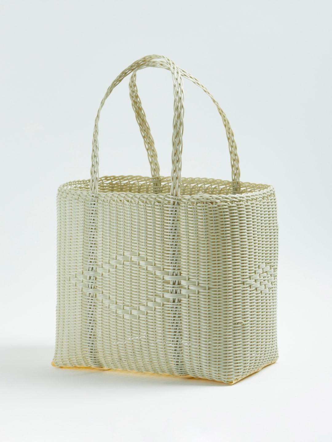 BASKET Bag M - Light Green
