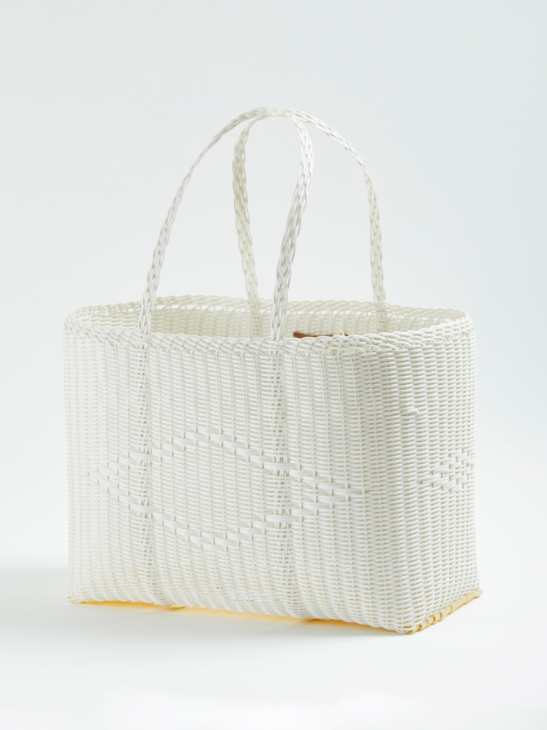 BASKET Bag L - White