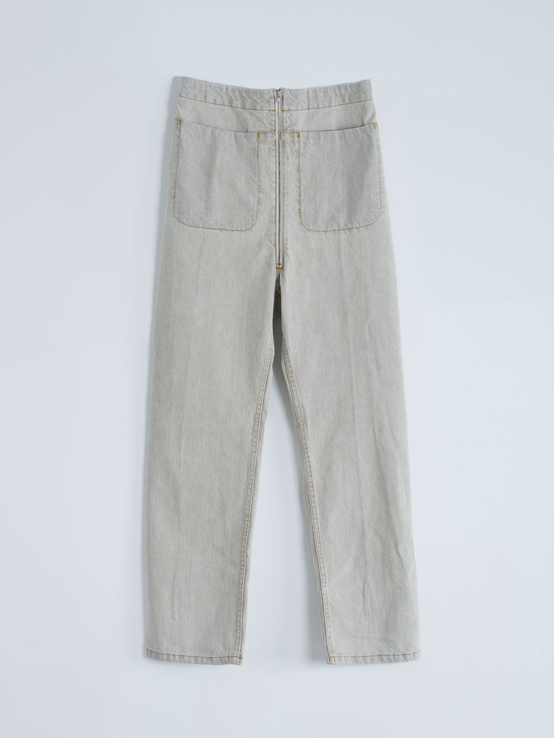Barrie Pant Washed - Khaki