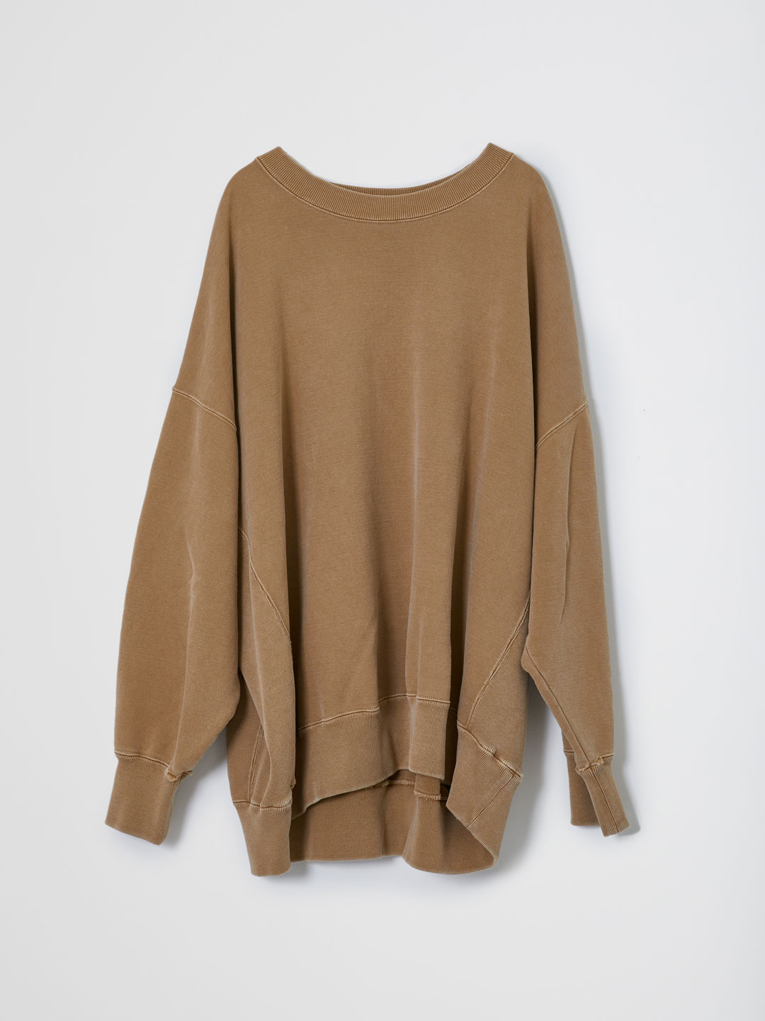 Basic Sweat Shirts  - Brown
