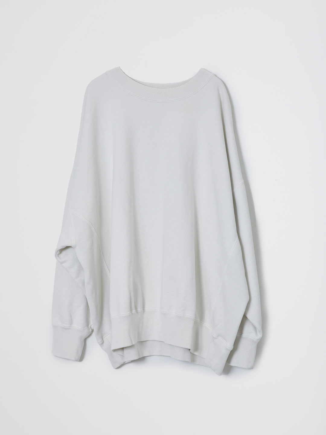 Basic Sweat Shirts  - Off White