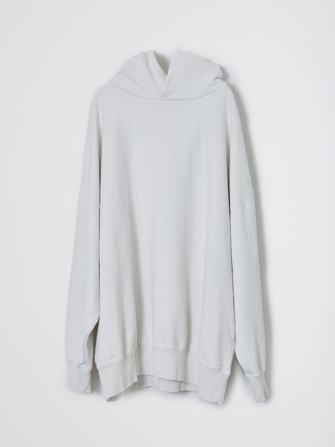 Basic Hooded Sweat Pullover  - Off White