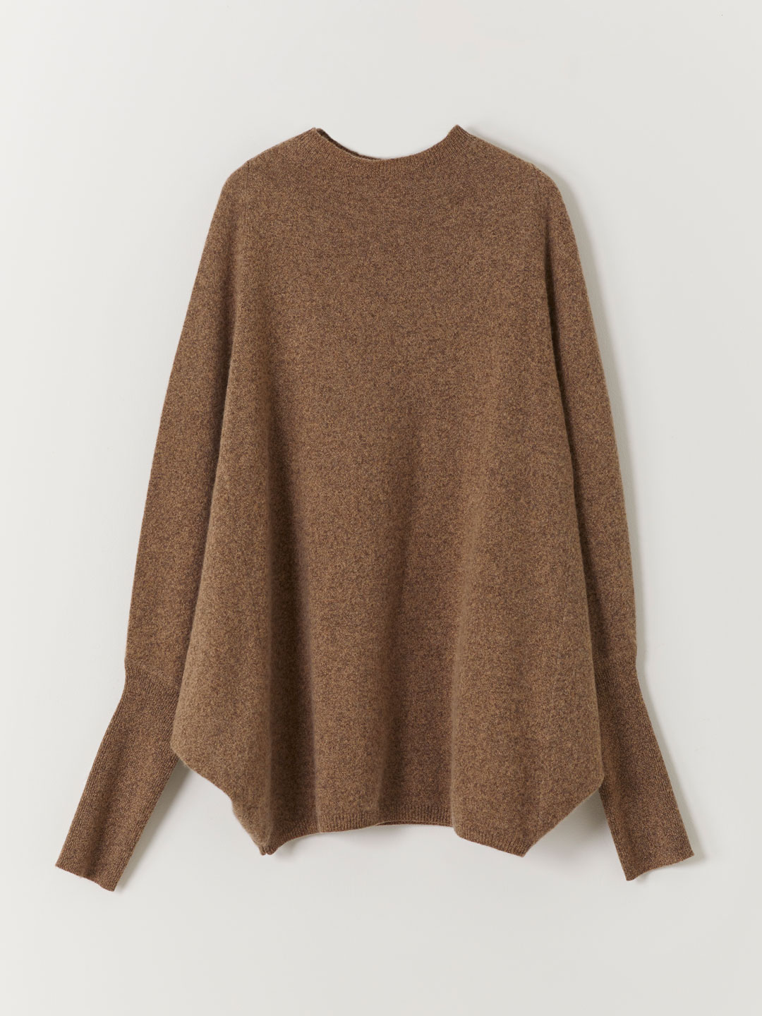 Cashmere Dolman Sleeve Sweater - Brown