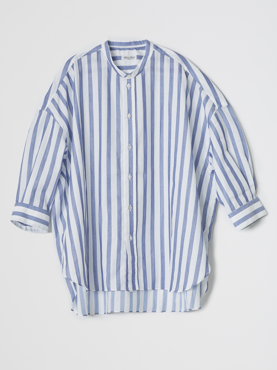 MONICA Stripe Shirt - Blue