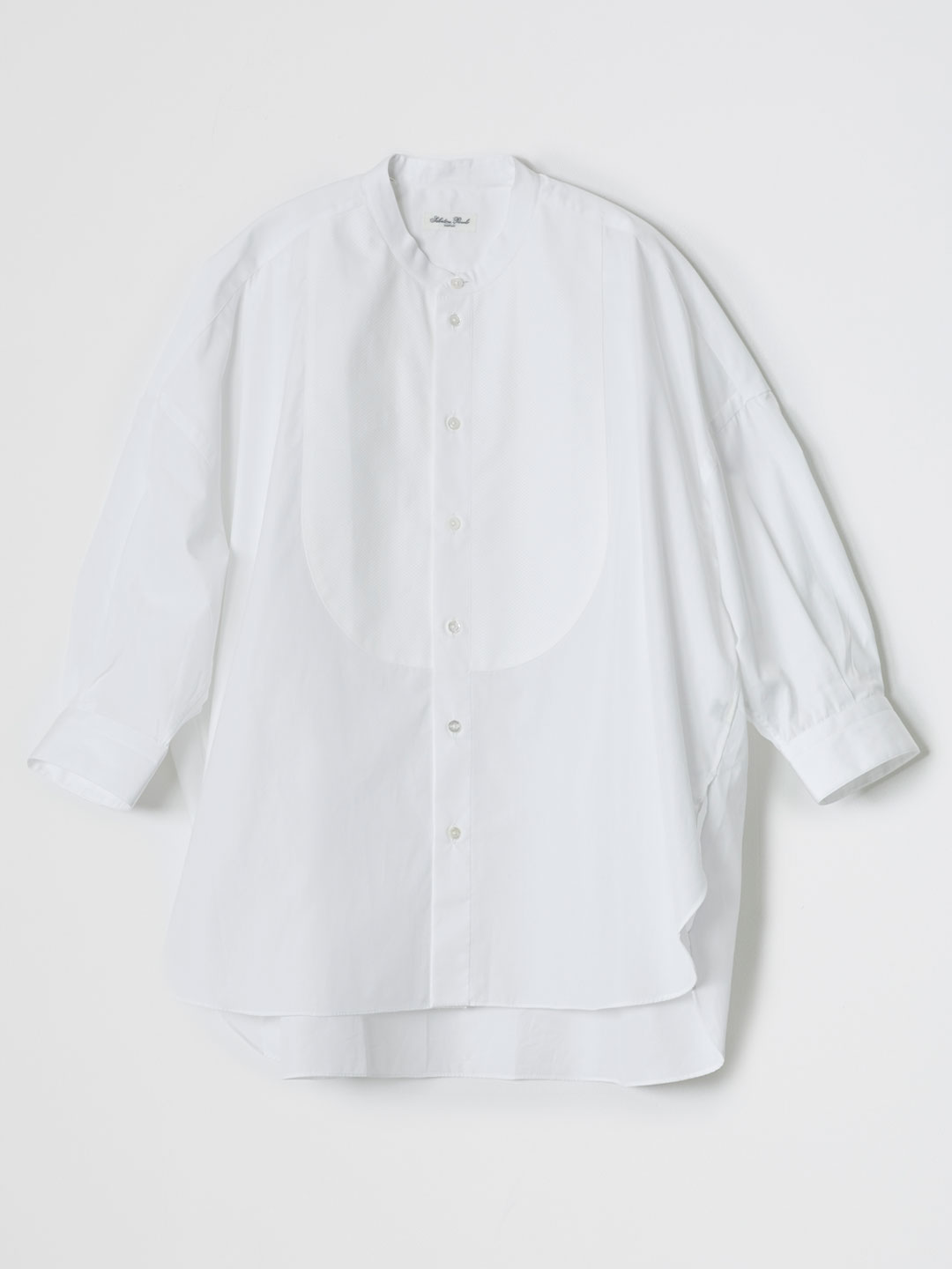 MONICA SMOCKING Shirt - White