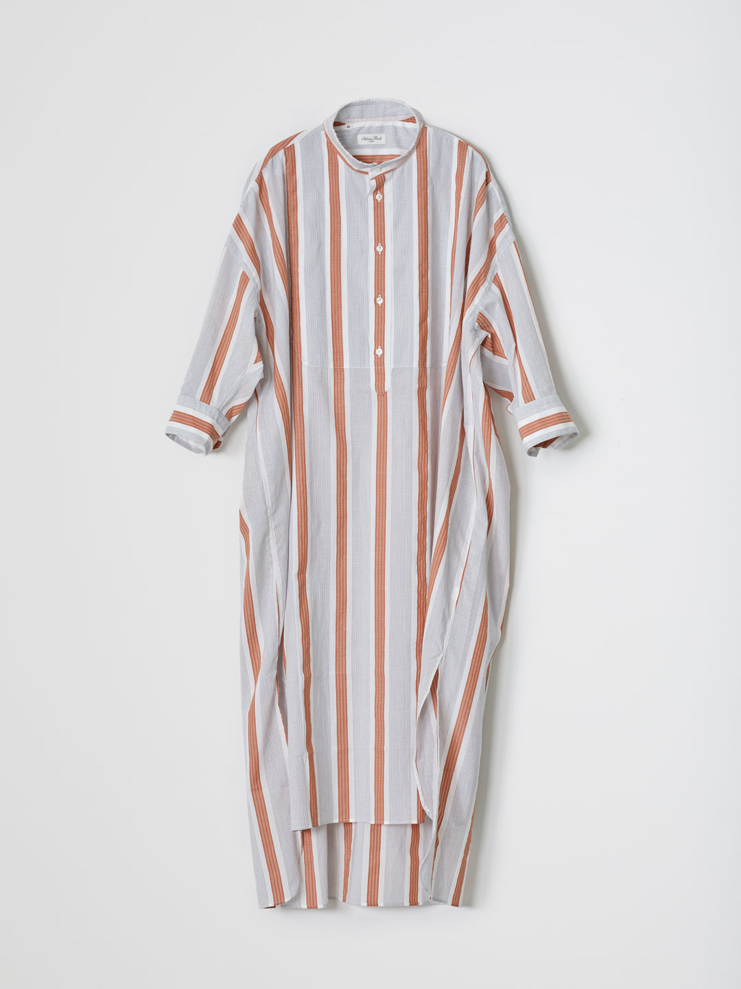TINA3 SMOCKING Long Shirt - Multi