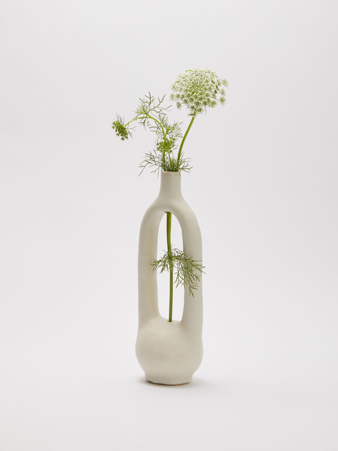 Single Stem Vessel small - Off White
