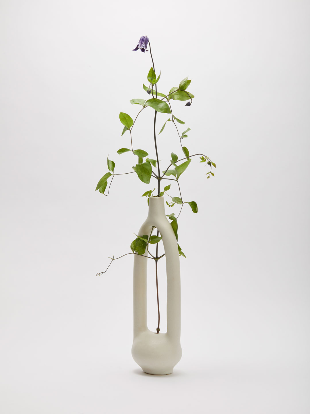 Single Stem Vessel large  - Off White