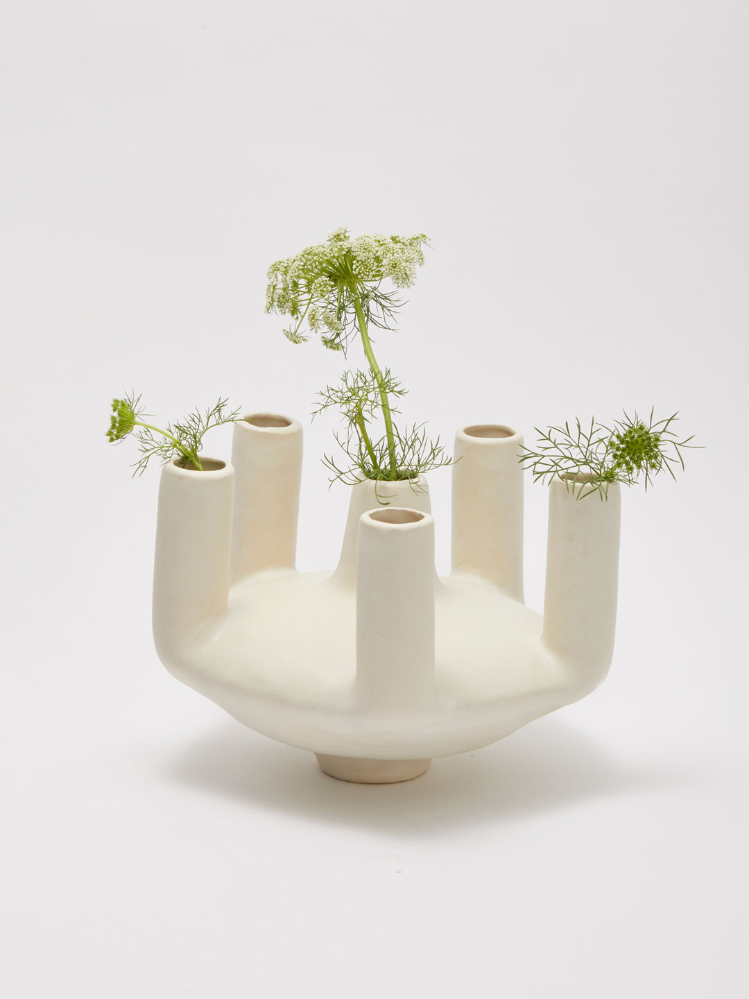 Parisian Saucer Vessel  - Off White