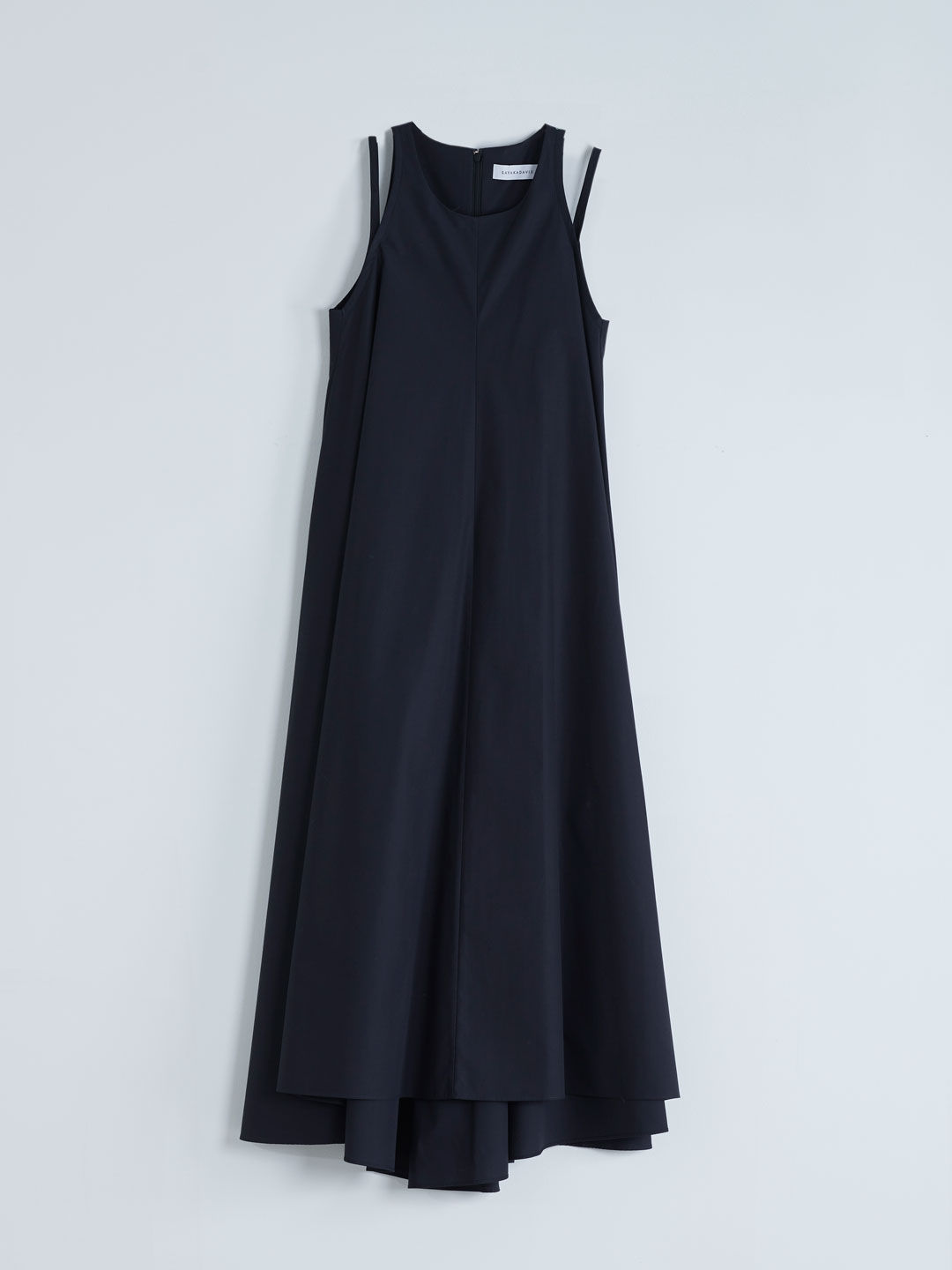 Double Strap Dress - Ink Black