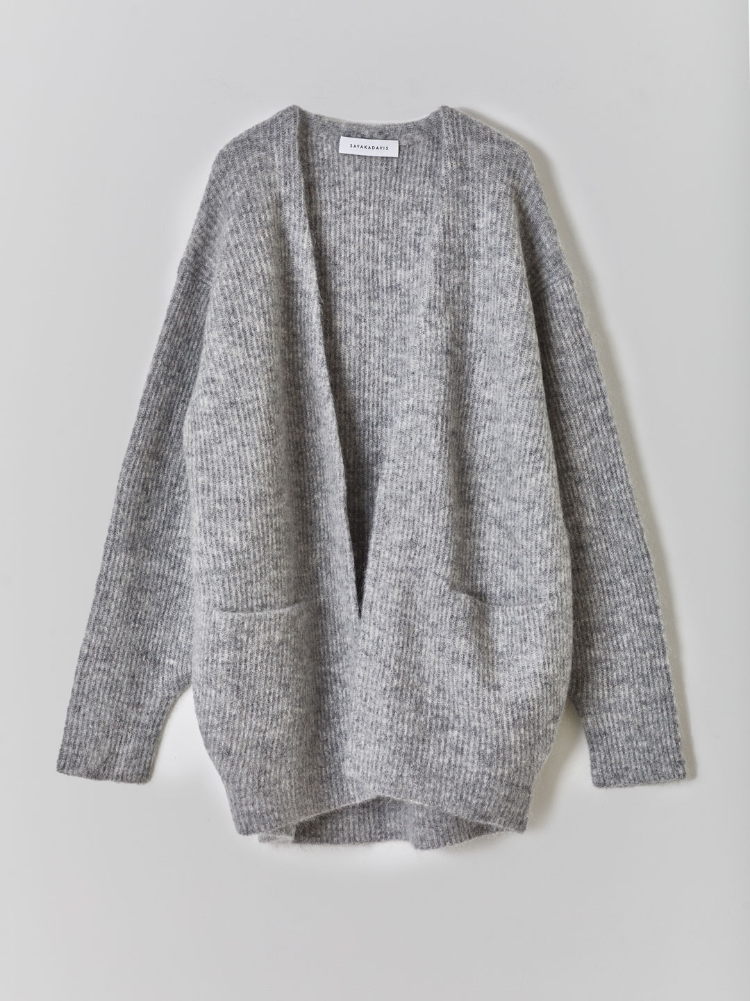 Cocoon Cardigan - Grey