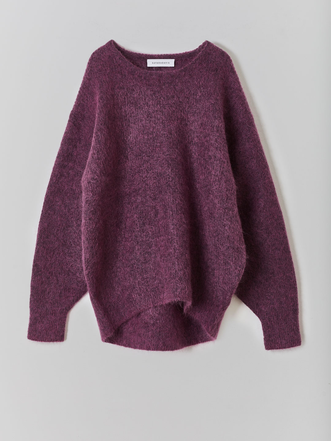 Cocoon Sweater  - Purple
