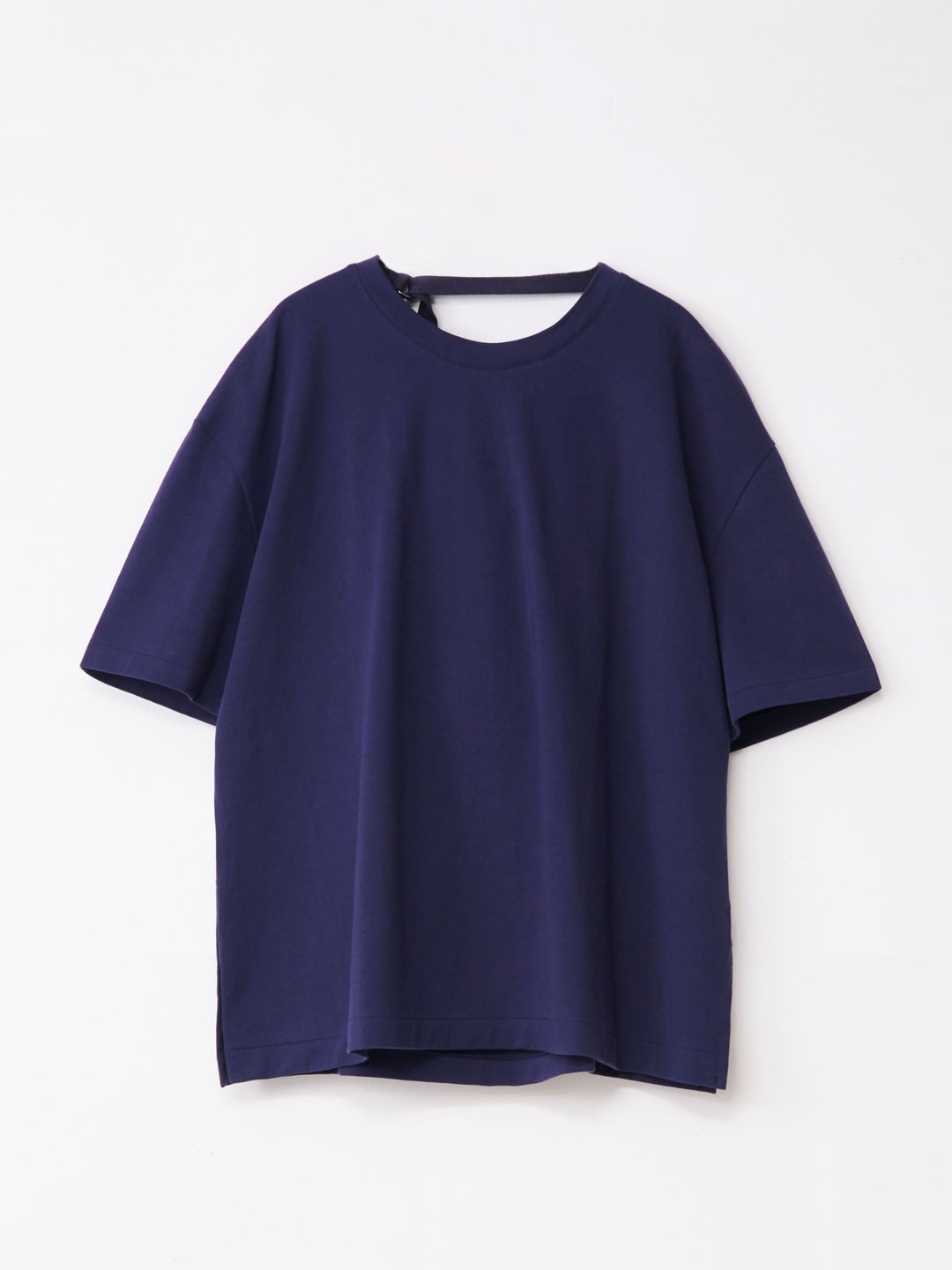 Draped Back Tee - Navy【LIMITED ITEM】