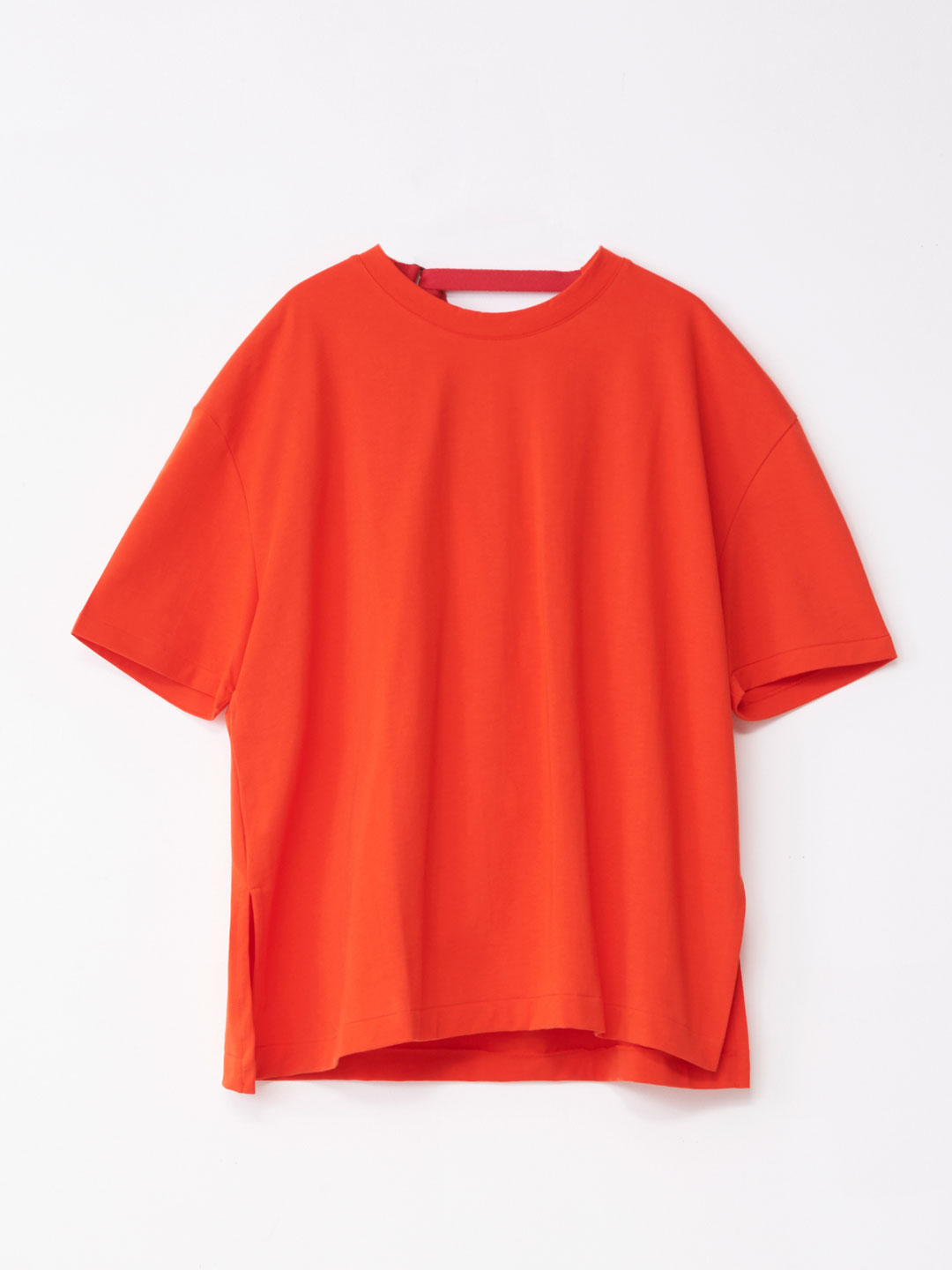Draped Back Tee - Red【LIMITED ITEM】