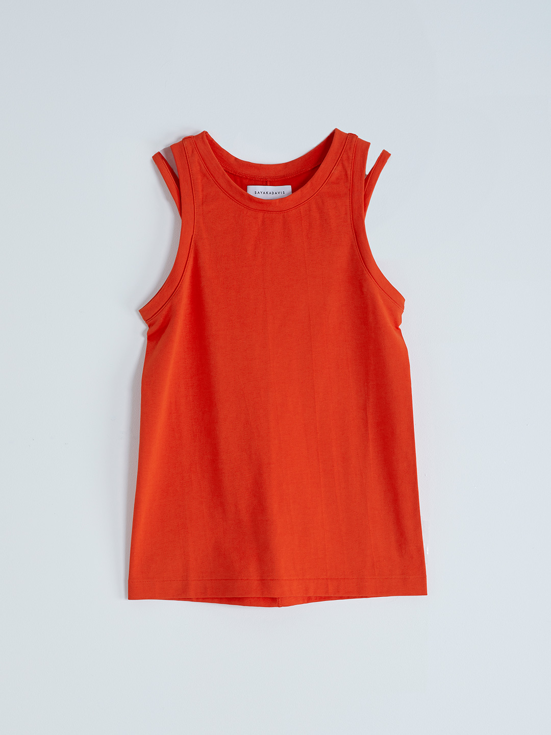Double Strap Tank - Red【LIMITED ITEM】