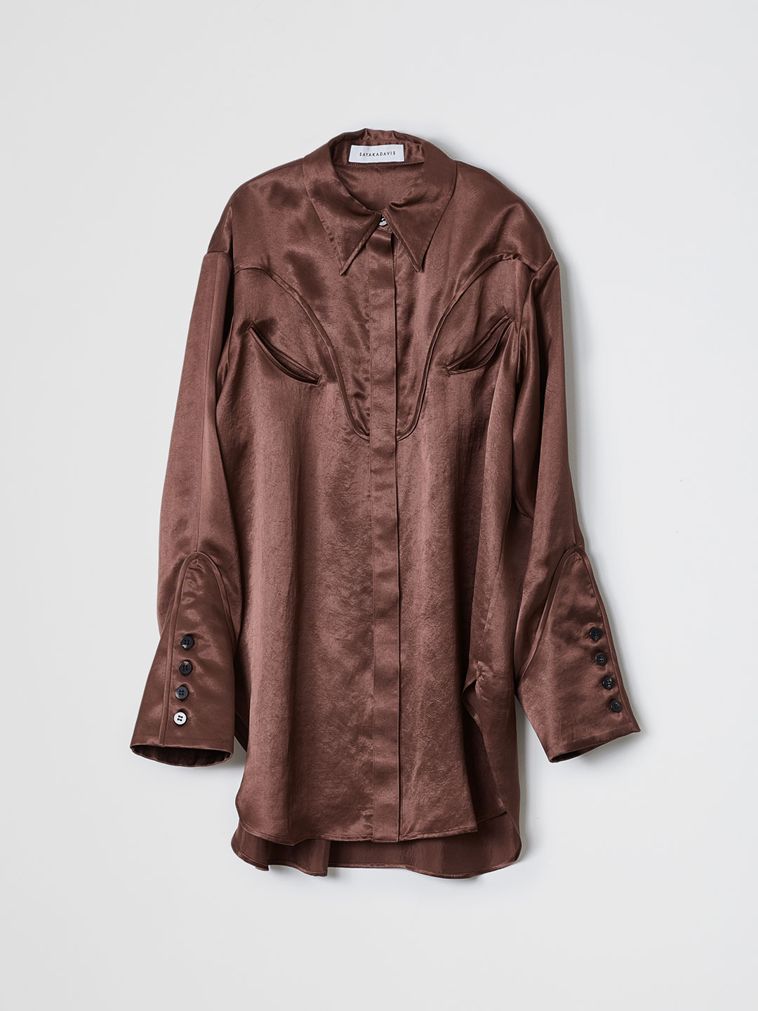 Western Shirt - Brown