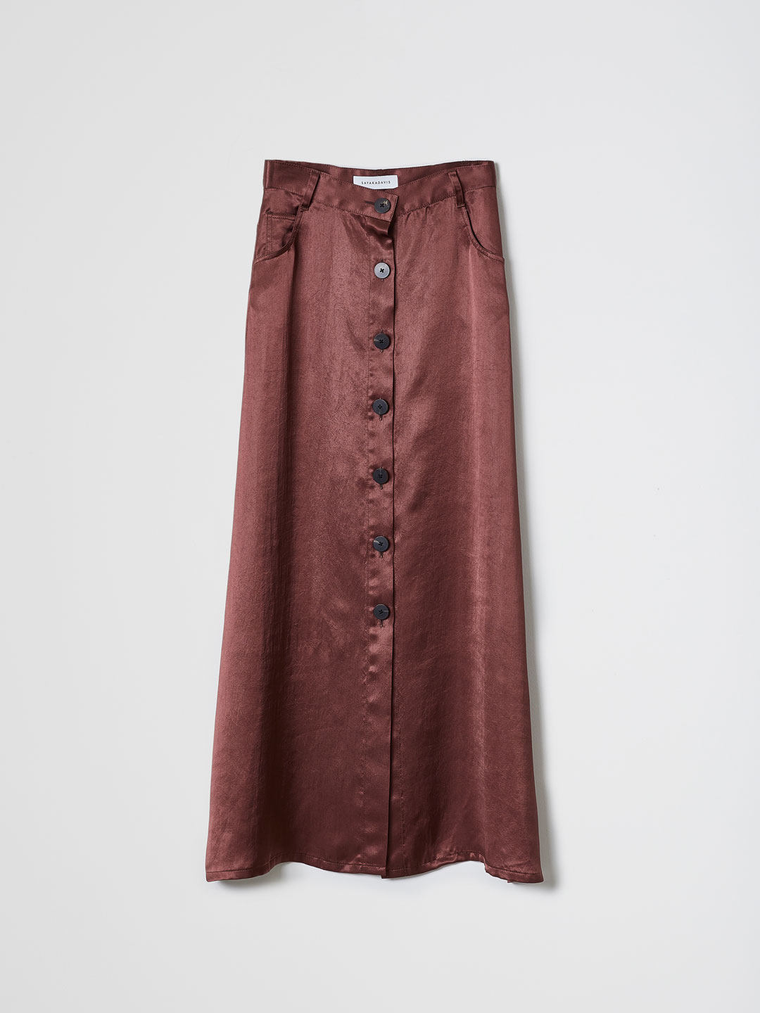 Flared Skirt - Brown