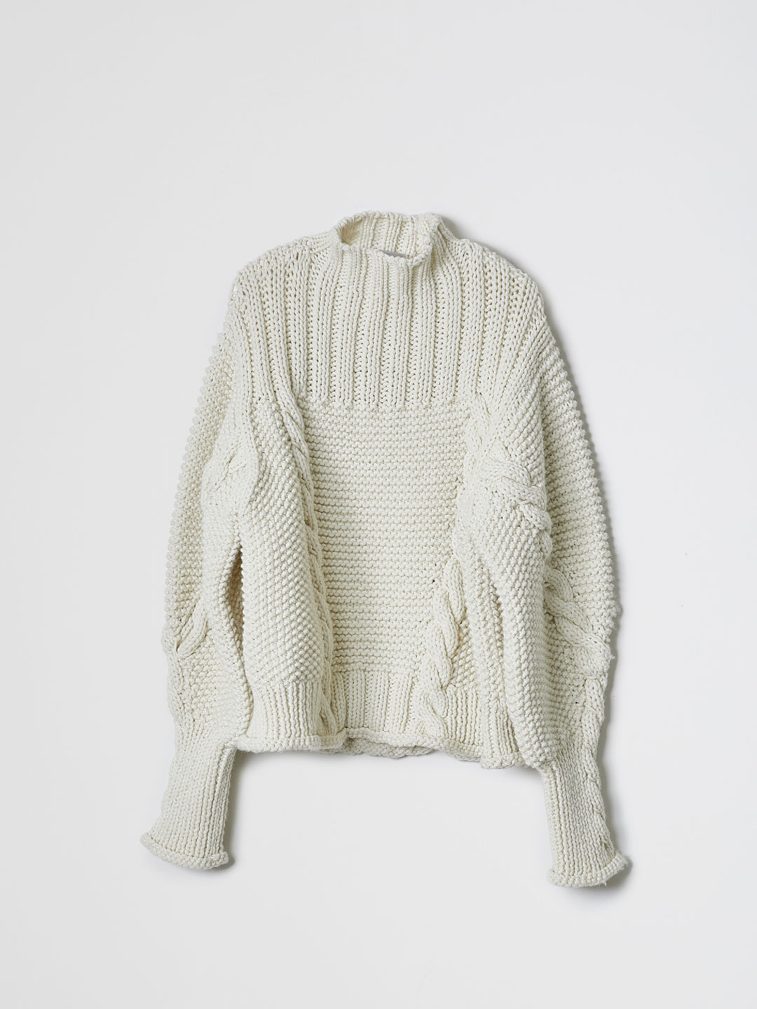 Cable Sweater - Off White