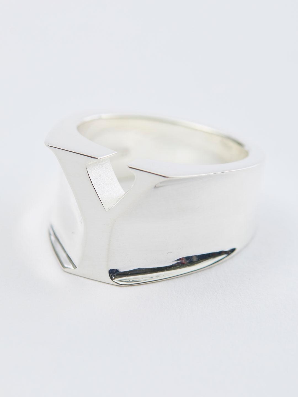 Alphabet Ring Y - Silver