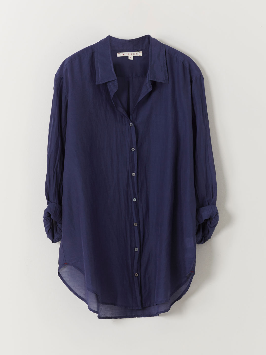 Beau Gypset Calliope Cotton Shirt - Navy